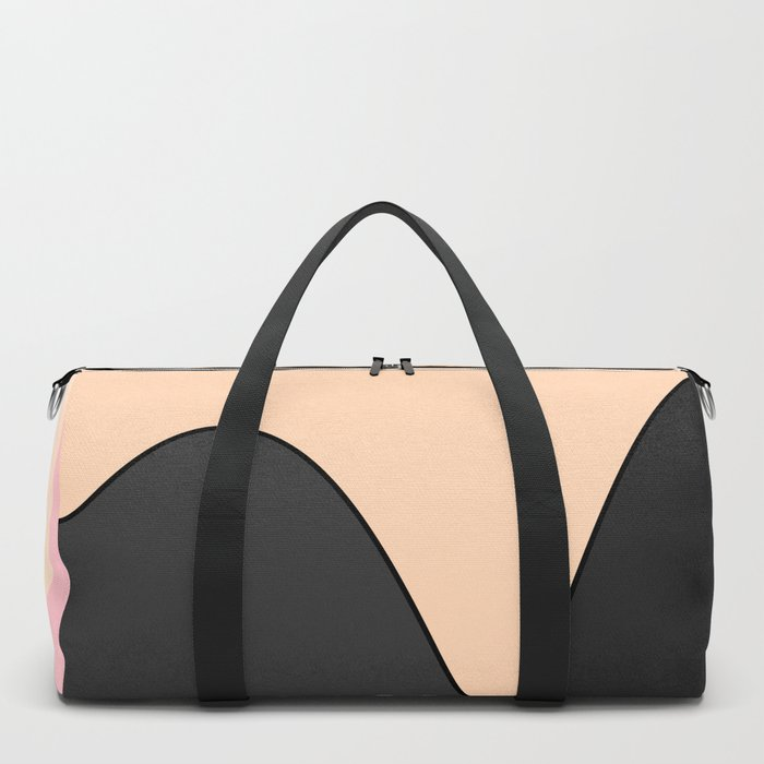 Happy Place - Black Pink Duffle Bag