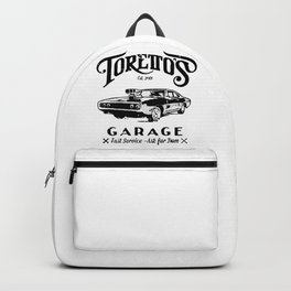 Toretto Garge Dom Backpack