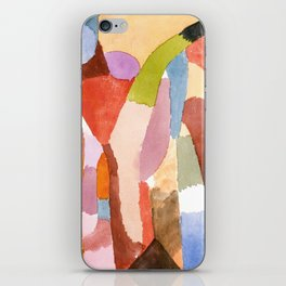 Movement of Vaulted Chambers by Paul Klee, 1915 iPhone Skin