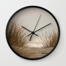 Whispering Grass Wall Clock
