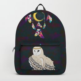 Owl with dreamcatcher Backpack
