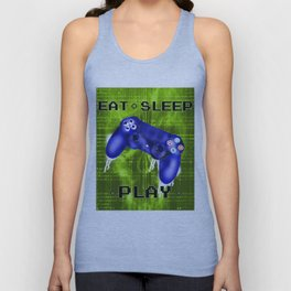 EAT.SLEEP.PLAY Unisex Tank Top