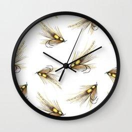 Willie Gunn Fishing Fly 2 Wall Clock