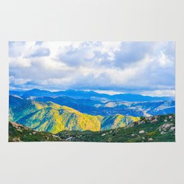 The Light in the Valley Rug