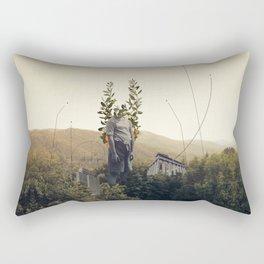 Forest Angel Rectangular Pillow