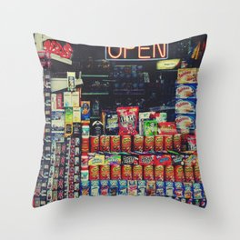 Candy Store Throw Pillow