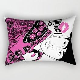 Cartoon Boyfriend© : Miguel Rectangular Pillow
