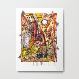 Creation through time Metal Print