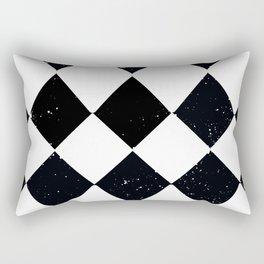 Night Stars and Checkerboards Rectangular Pillow