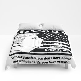 TRUMP Making America Great Again Comforters