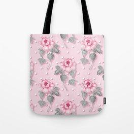 Shabby Rose Tote Bag