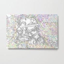 One Trooper Metal Print