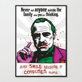 The JokeFather Canvas Print