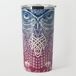 Evening Warrior Owl Travel Mug