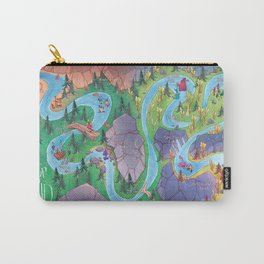 Land of AND - Map Carry-All Pouch