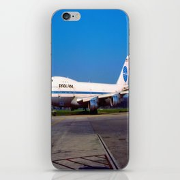 PanAm 747 Clipper iPhone Skin
