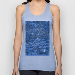 Man & Nature - The Dangerous Sea Unisex Tank Top