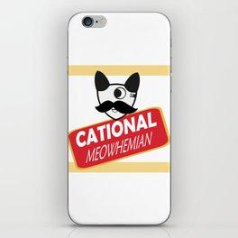 Catty Bo iPhone Skin