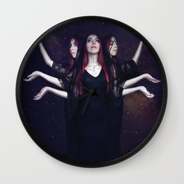 """Hecate"" Wall Clock"