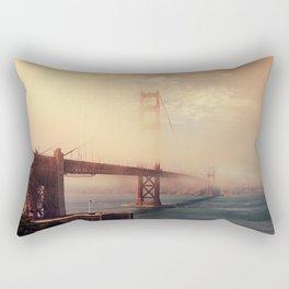 Golden Crossings Rectangular Pillow