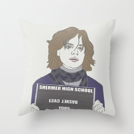 The Basketcase Throw Pillow