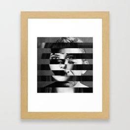 Jane x Serge Framed Art Print