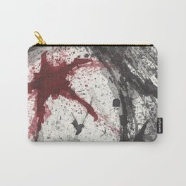 RED STAR - WATERCOLOR SPLATTER ART Carry-All Pouch