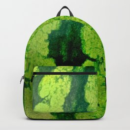 Watermelon skin texture Backpack