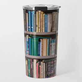 Library books Travel Mug