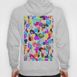 B APE colorful pattern Hoody