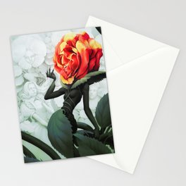 Alice in Wonderland Rose Stationery Cards