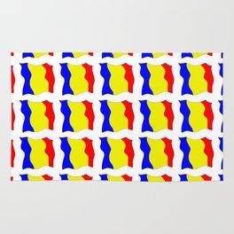 Flag of romania-romania,romanian,balkan,bucharest,danube,romani,romana,bucuresti Rug