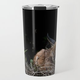 Napping Cat Travel Mug