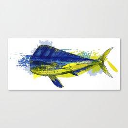 El Dorado, Dolphin, Mahi Mahi Canvas Print