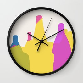 The Potteries Wall Clock