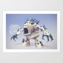 Marshmallow Art Print
