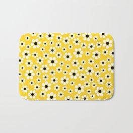 Dizzy Daisies - Yellow Bath Mat