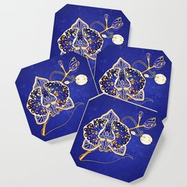 Egyptian Blue :: Orchid Coaster