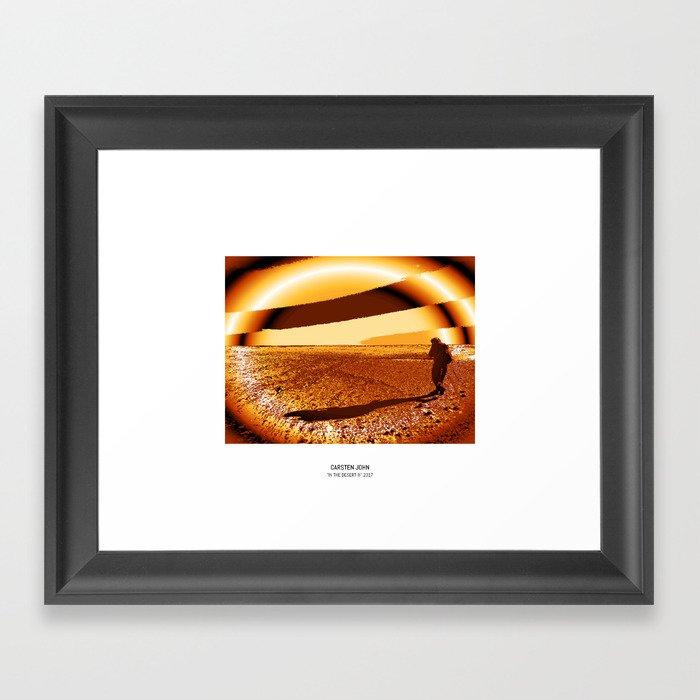 IN THE DESERT III Framed Art Print
