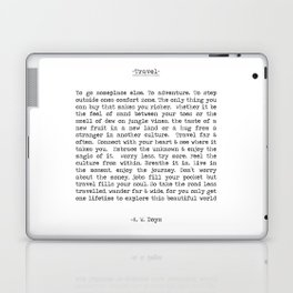 Travel Far and Often Laptop & iPad Skin