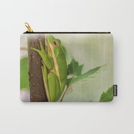 Painted Green Tree Frog Carry-All Pouch