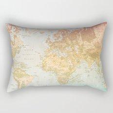 Pastel World Rectangular Pillow