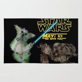 Starr Wars dogs Rug