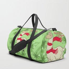 Falalala Llama! Duffle Bag