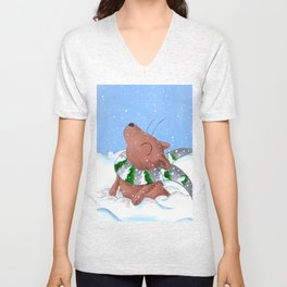 Winter's Here to Stay! Unisex V-Neck