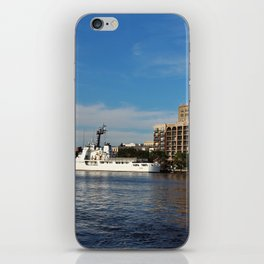 City Across The River iPhone Skin