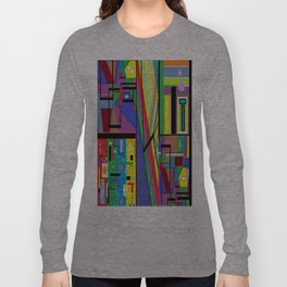 Geometry Abstract Long Sleeve T-shirt