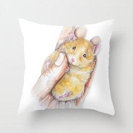 Peanut Throw Pillow