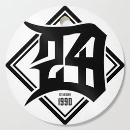 D24 Designs logo Cutting Board