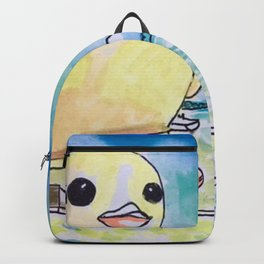 Duck on Toronto Harbour Backpack